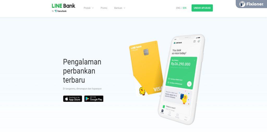 Cara Daftar LINE Bank 2021