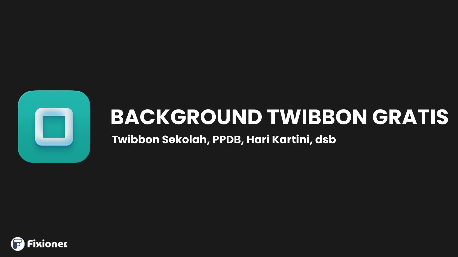 Background Twibbon