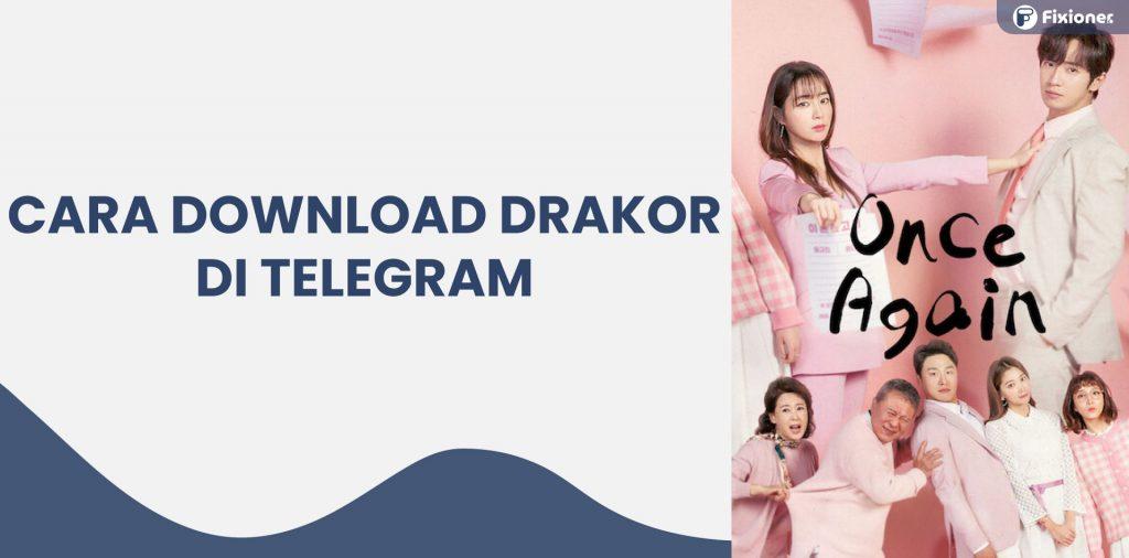 cara nonton drakor di telegram tanpa download