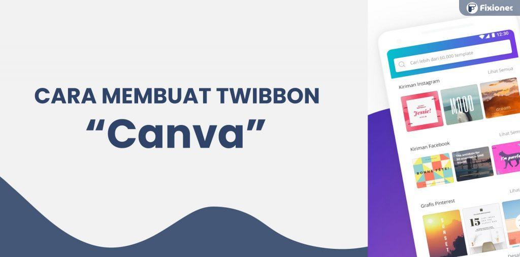 cara membuat twibbon di canva