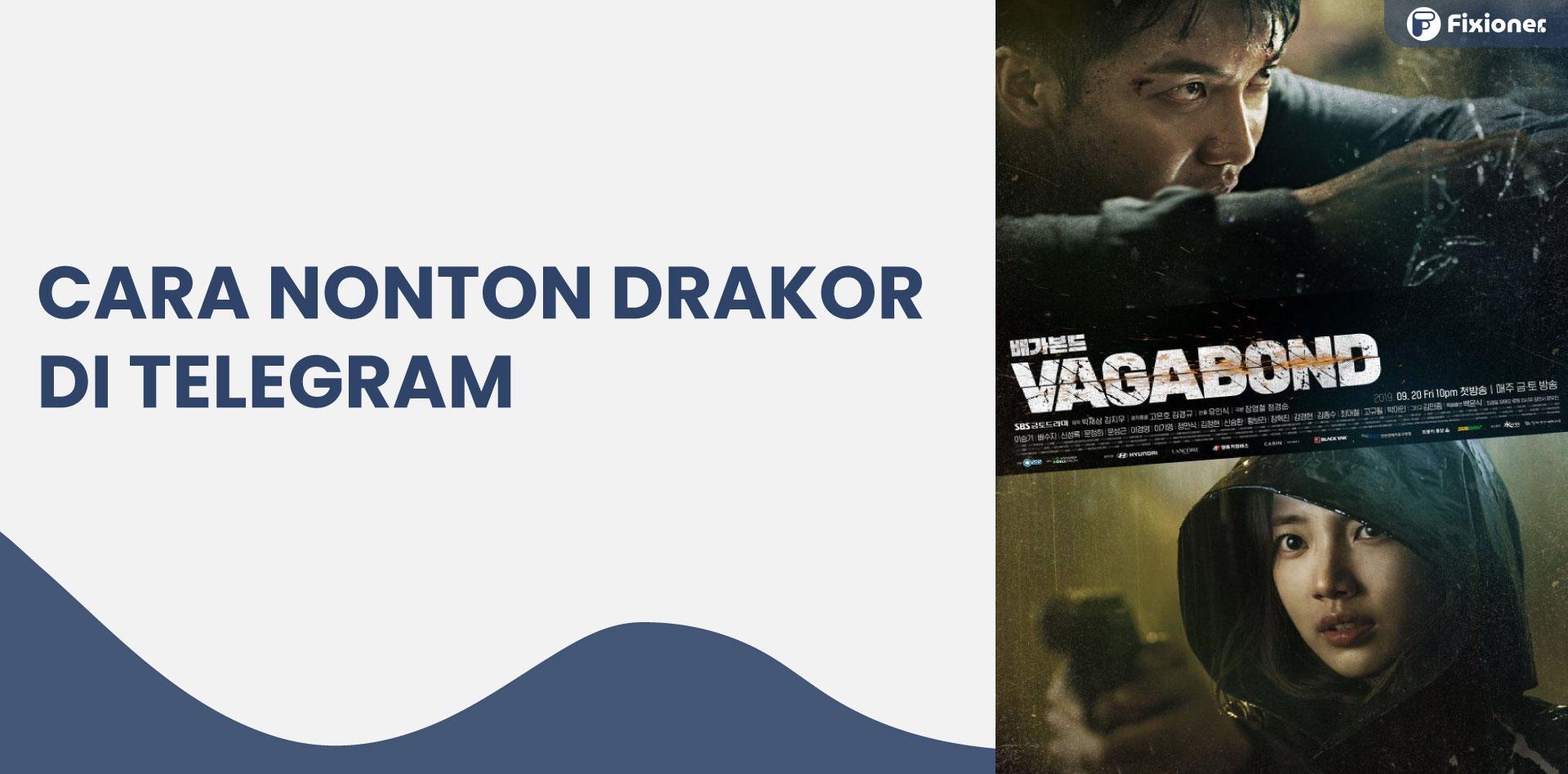 cara download drakor di telegram 2021