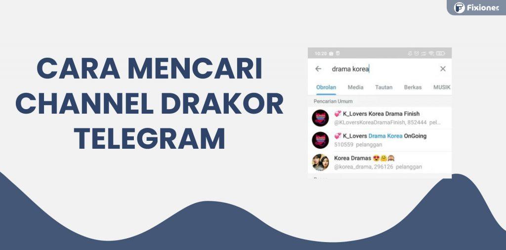 link drakor telegram sub indo