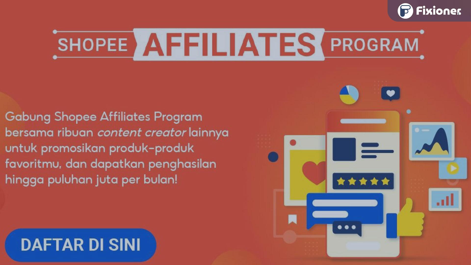 daftar shopee affiliate