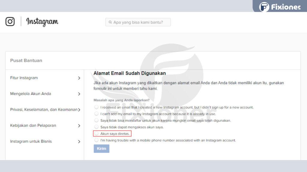 Cara Mengembalikan IG yang di Hack Tanpa Email dan Nomor Handphone