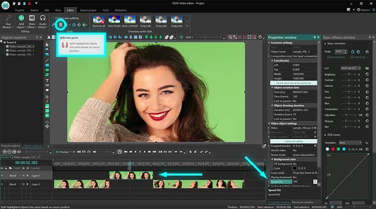aplikasi edit video PC ringan gratis