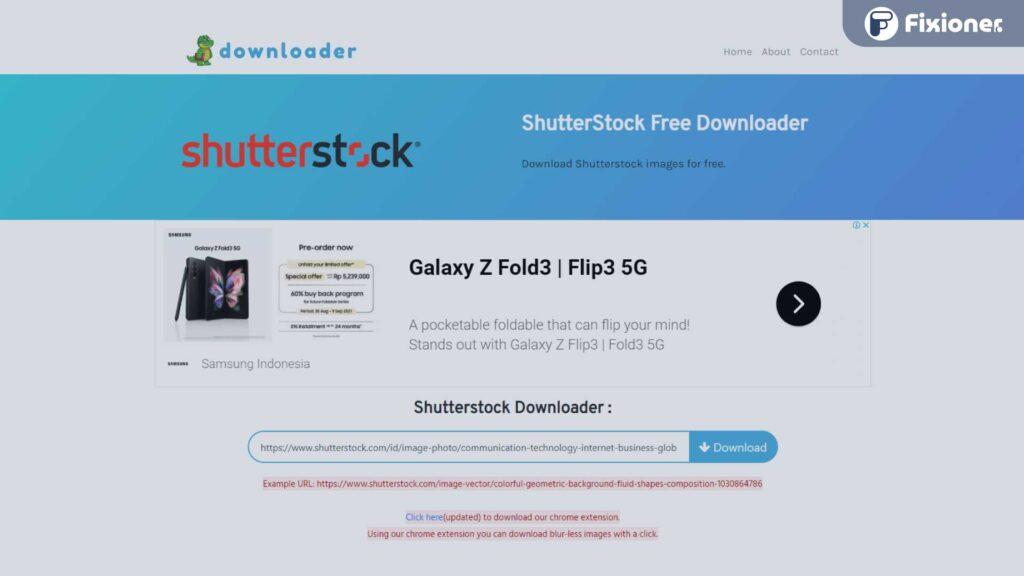 shutterstock downloader