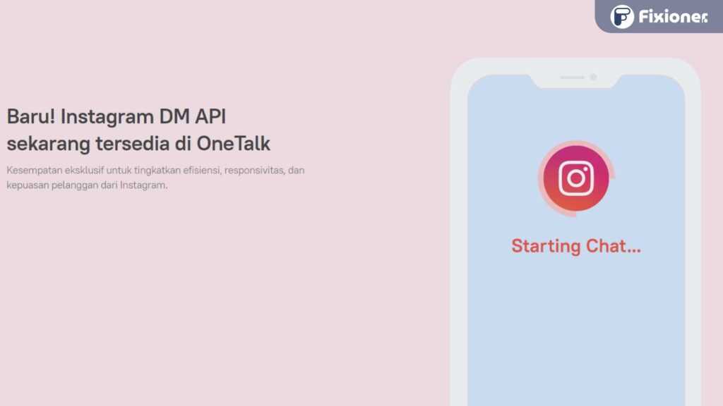 Instagram DM API by OneTalk